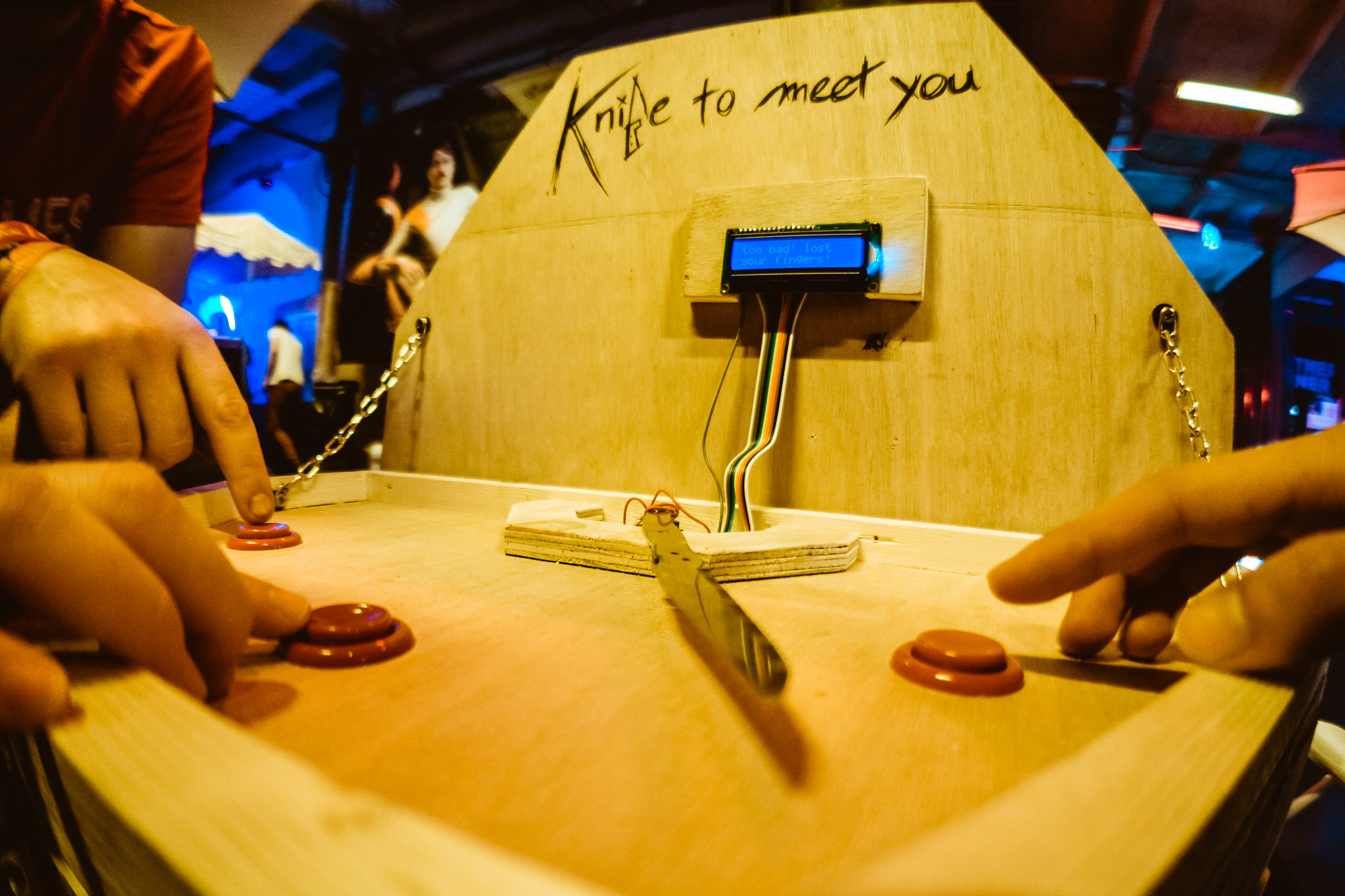 robin baumgarten s game experiments projects knife to meet you